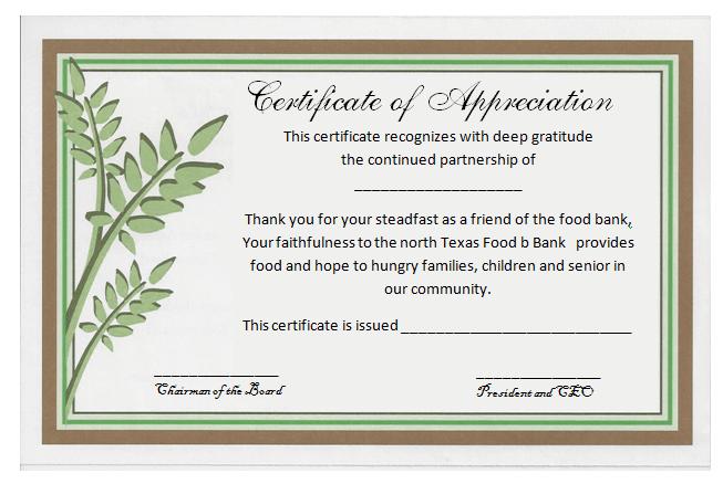 Formal Certificate Of Appreciation Template (2) - Templates with regard to Best Formal Certificate Of Appreciation Template
