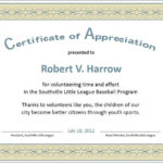 Formal Certificate Of Appreciation Template | Certificate Of Regarding Best Formal Certificate Of Appreciation Template