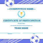 Four Sports Awards Certificate For Sports Award Certificate Template Word