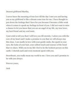 Free 10+ Love Letters For Girlfriend In Ms Word   Pdf within Best Girlfriend Certificate 10 Love Templates
