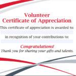 Free 11+ Sample Volunteer Certificate Templates In Pdf | Psd Regarding Fresh Volunteer Certificate Templates