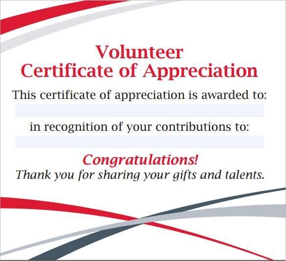 Free 11+ Sample Volunteer Certificate Templates In Pdf | Psd with Quality Volunteer Award Certificate Template