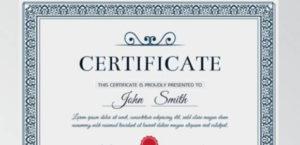 Free 15+ Sample Merit Certificate Templates In Pdf | Ms Word throughout Fresh Certificate Of Merit Templates Editable