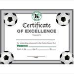 Free 17+ Soccer Certificate Templates In Psd | Ai | Indesign Inside Soccer Certificate Template