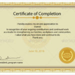 Free 20+ Printable Certificate Templates In Pdf | Ms Word Regarding Best Certificate Templates For Word Free Downloads
