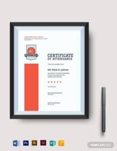 Free 20+ Sample Basketball Certificate Templates In Pdf   Ms in Unique Basketball Mvp Certificate Template