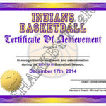 Free 20+ Sample Basketball Certificate Templates In Pdf   Ms Regarding Basketball Tournament Certificate Templates