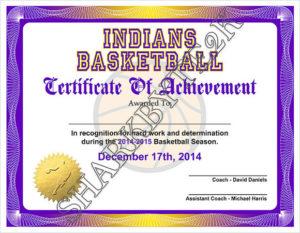 Free 20+ Sample Basketball Certificate Templates In Pdf | Ms regarding Basketball Tournament Certificate Templates