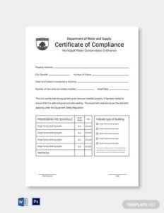 Free 25+ Sample Certificate Of Compliance In Pdf | Psd | Ai in Certificate Of Compliance Template 10 Docs Free
