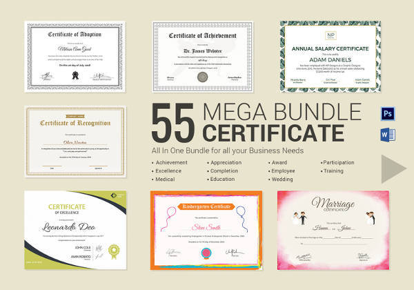 Free 28+ Microsoft Certificate Templates In Ms Word | Excel in Honor Certificate Template Word 7 Designs Free