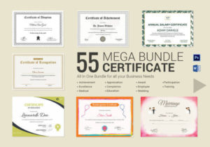 Free 28+ Microsoft Certificate Templates In Ms Word | Excel With Regard To Best Certificate Templates For Word Free Downloads