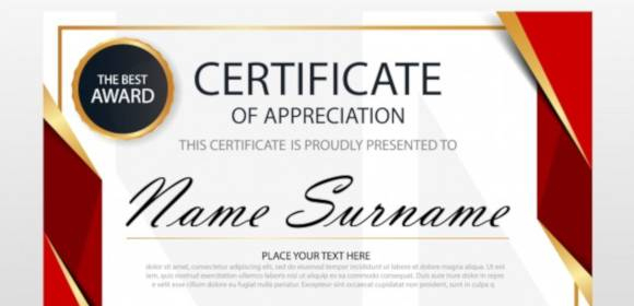 Free 32+ Certificate Of Appreciation Templates In Ai with regard to New Printable Certificate Of Recognition Templates Free