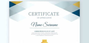 Free 34+ Sample Certificate Of Appreciation Templates In Pdf regarding Unique Free Template For Certificate Of Recognition