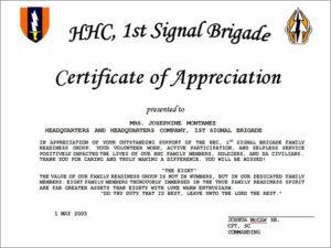 Free 35+ Best Printable Certificate Of Appreciation regarding Army Certificate Of Appreciation Template