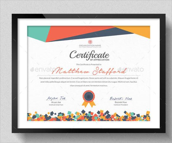 Free 38+ Best School Certificate Templates In Ai | Indesign with Unique School Certificate Templates Free