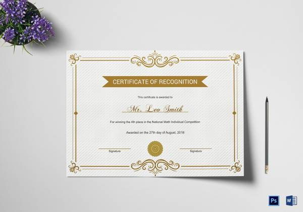 Free 39+ School Certificate Templates In Ai | Indesign | Ms intended for New Leaving Certificate Template