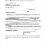 Free 42+ Sample Certificate Forms In Pdf | Excel | Ms Word In Certificate Of Appearance Template
