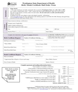 Free 5+ Death Certificate Forms In Pdf | Ms Word within Best Blank Death Certificate Template 7 Documents