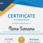 Free 52+ Printable Award Certificate Templates In Ai In Blank Award Certificate Templates Word