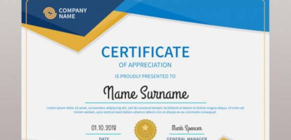 Free 52+ Printable Award Certificate Templates In Ai with regard to New Certificate Of Recognition Template Word