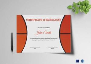 Free 52+ Printable Award Certificate Templates In Ai within Basketball Certificate Template Free 13 Designs