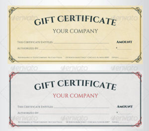 Free 60+ Sample Gift Certificate Templates In Pdf | Psd | Ms intended for Editable Fitness Gift Certificate Templates