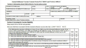 Free 7+ Sample Vaccine Consent Forms In Pdf | Ms Word with Best Certificate Of Vaccination Template