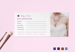 Free 9+ Sample Attractive Photography Gift Certificate intended for Free Photography Gift Certificate Template