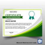 Free A4 Certificate Template 06   Free Template Design In Landscape Certificate Templates