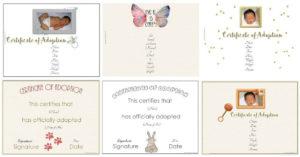 Free Adoption Certificate Template – Customize Online for Pet Adoption Certificate Template