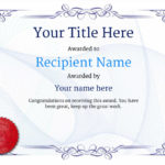 Free Athletic Running Certificate Templates Inc Printable For 5K Race Certificate Template