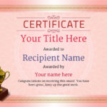 Free Ballet Certificate Templates – Add Printable Badges Pertaining To New Ballet Certificate Template