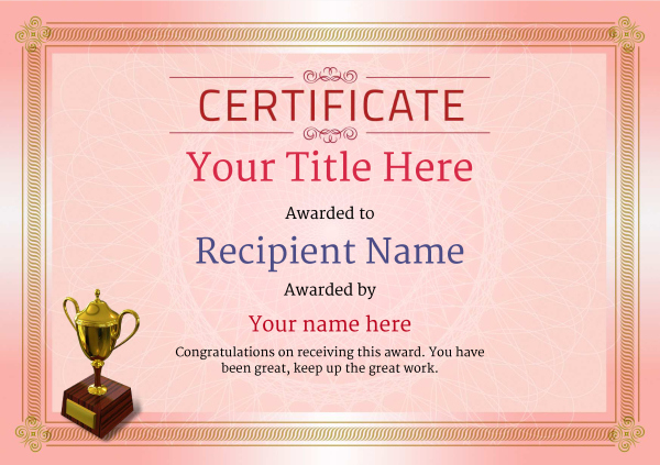 Free Ballet Certificate Templates - Add Printable Badges pertaining to New Ballet Certificate Template