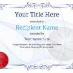 Free Basketball Certificate Templates – Add Printable Badges With Regard To Basketball Certificate Template
