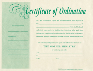 Free Blank Certificate Of Ordination Ordination For Minister inside Quality Update Certificates That Use Certificate Templates