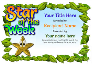 Free Blank Certificate Templates – Unlimited Use in Star Certificate Templates Free