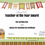 Free Certificate Of Appreciation For Teachers   Customize Online Throughout Teacher Appreciation Certificate Free Printable