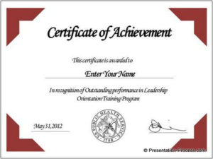 Free Certificate Template Powerpoint – Google Search | Free regarding Powerpoint Award Certificate Template