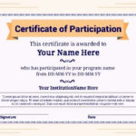 Free Certifictate Templates   Pageprodigy – Design Online With Baseball Certificate Template Free 14 Award Designs