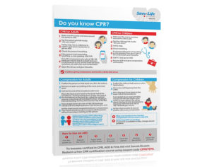 Free Cpr Steps Poster -Savealife – Download Now for New First Aid Certificate Template Top 7 Ideas Free