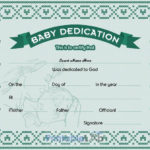 Free Download Baby Dedication Certificate Doc Template In Pertaining To Quality Free Fillable Baby Dedication Certificate Download