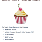 Free Download The Top 7+ Extraordinary Templates Of throughout Certificate For Baking 7 Extraordinary Concepts