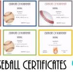 Free Editable Baseball Certificates – Customize Online Throughout Best Baseball Achievement Certificates