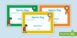 Free! – Editable Certificate Of Achievement Template within Sports Day Certificate Templates Free