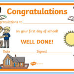 Free! - First Day Award Certificates School (Teacher Made) throughout Fresh First Day Of School Certificate Templates Free