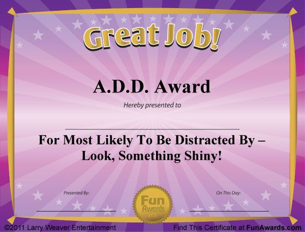 Free Funny Award Certificate Templates For Word (6 with Best Free Funny Award Certificate Templates For Word