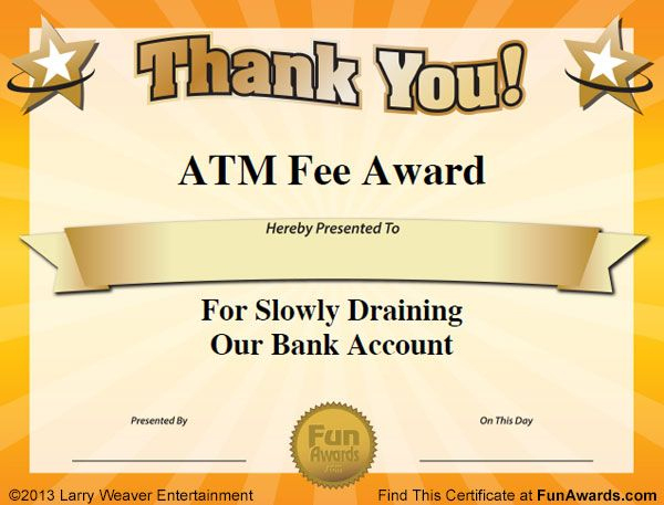 Free Funny Award Certificates Templates | Sample Funny for Best Funny Certificates For Employees Templates
