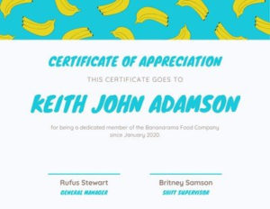 Free Funny Certificates Templates To Customize   Canva with regard to Unique Fun Certificate Templates