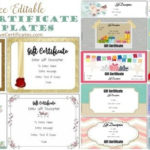 Free Gift Certificate Template | 50+ Designs | Customize For Best Baby Shower Gift Certificate Template Free 7 Ideas