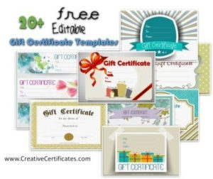 Free Gift Certificate Template   50+ Designs   Customize pertaining to Zoo Gift Certificate Templates Free Download